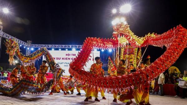 Kiên Giang: Tưng bừng khai mạc Hội thi lân sư lần nhất
