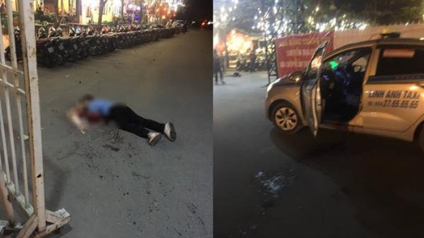 Nghi án tài xế taxi bị c.ướp c.ứa cổ, t.ử vong trước cửa sân vận động