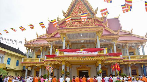 Sóc Trăng: Khánh thành ngôi tăng xá chùa H'luông Basac Bai Chhau