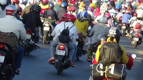 Chuyện khó tin: Nơi kẹt xe nghiêm trọng nhất miền Tây dịp Tết