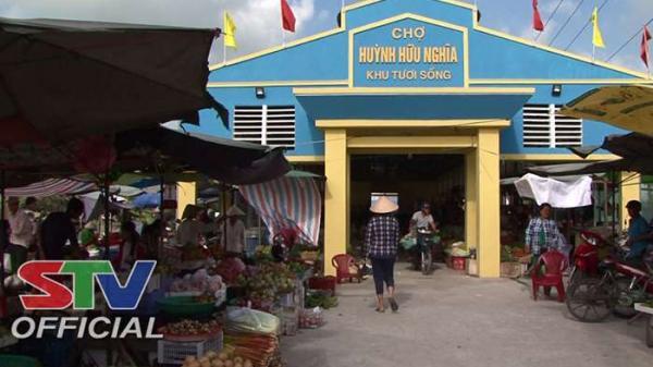 Sóc Trăng: Khu chợ thực phẩm tươi sống Huỳnh Hữu Nghĩa chính thức hoạt động