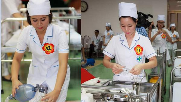 Bệnh viện ĐK Hà Nam tổ chức hội thi điều dưỡng, kỹ thuật viên giỏi, thanh lịch
