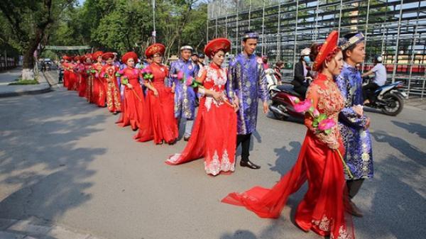 Sóc Trăng: Tổ chức lễ cưới tập thể cho NLĐ khó khăn