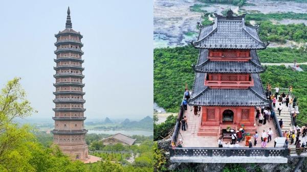 BẤT NGỜ: Nét tương đồng của hai ngôi chùa kỷ lục ở Hà Nam và Ninh Bình