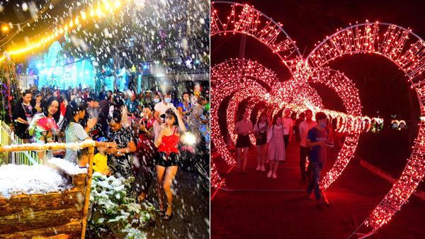 """Hà Nam """"chơi lớn"""" nhất Tết này: Đón Festival Xuân Duy Tiên với hàng triệu bóng đèn Led và hiệu ứng tuyết rơi"""