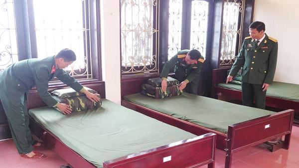 Mô hình chính quy - xanh - sạch - hiệu quả ở Ban CHQS huyện Lý Nhân