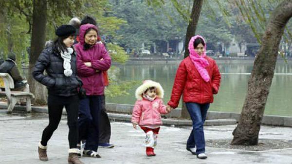 Miền Bắc sắp đón không khí lạnh mới, có nơi nhiệt độ giảm xuống mức 7,2 độ C