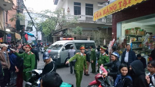 Công an Hà Nội xác định sơ bộ nguyên nhân Chủ tịch huyện Quốc Oai tử vong