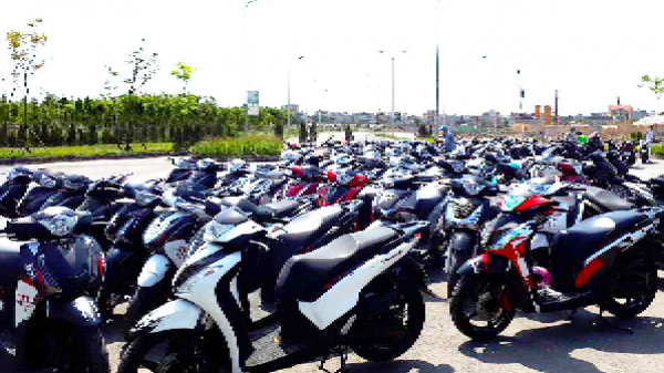 Dàn Honda SH tụ hội ở Hà Nội