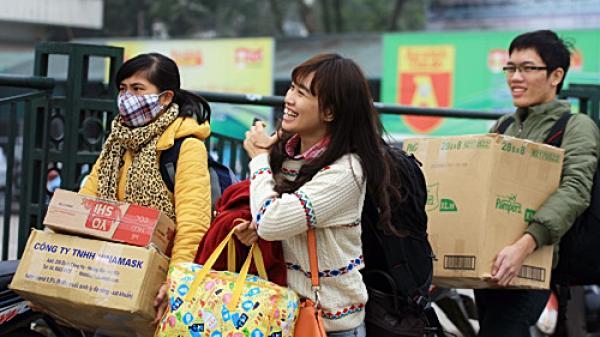 Lịch nghỉ Tết Nguyên đán cho học sinh, sinh viên Hà Nội và TP. HCM