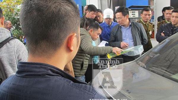 Nóng: Petrolimex được 'giải oan', khách hàng công nhận bình xăng ôtô 70l 'ních' được 81,9l