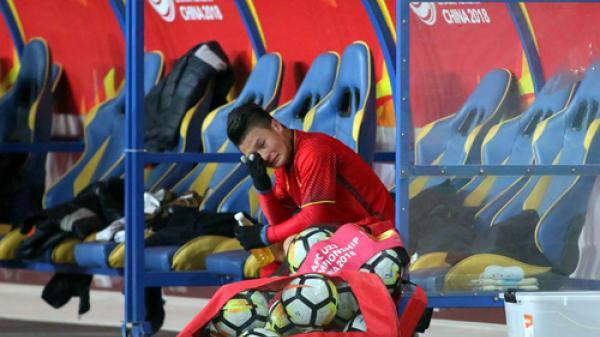 Việt Nam làm nên lịch sử ở U23 châu Á 2018: Giọt nước mắt của người hùng Quang Hải