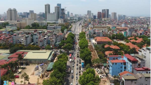 Xây dựng cầu cạn Mai Dịch - cầu Thăng Long vào quý 3/2017