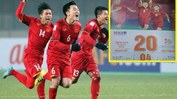 SỐC: Tờ lịch tiên tri chính xác 100% về chiến thắng vĩ đại của U23 Việt Nam
