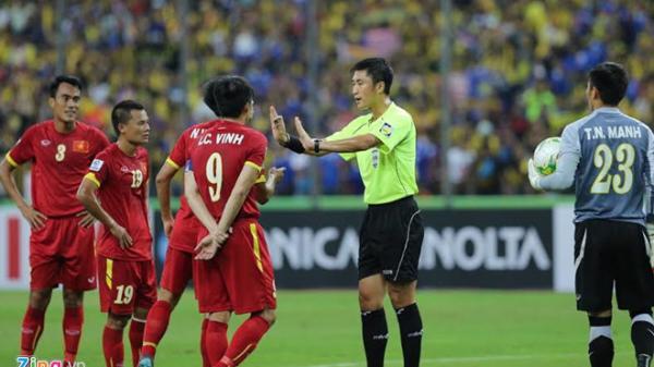Trọng tài xử ép ĐT Việt Nam ở AFF Cup 2014 sẽ bắt trận chung kết U23?