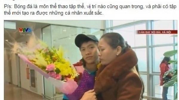 Cộng đồng mạng lên tiếng đòi công bằng cho các chiến binh thầm lặng U23 Việt Nam