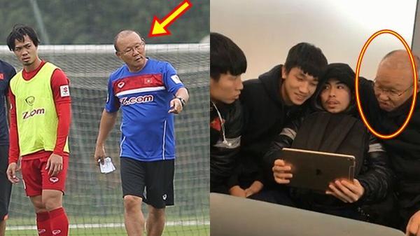 """Nhìn lại những khoảnh khắc """"siêu cấp"""" dễ thương của HLV Park Hang-seo trên sân cỏ"""