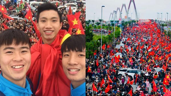 Truyền thông quốc tế choáng ngợp, Reuters phải thốt lên 'không khí chào đón U23 tại Việt Nam giống như World Cup đang diễn ra vậy'