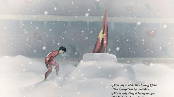 Cầu thủ Duy Mạnh: 'Là đàn ông chỉ cúi đầu dưới quốc kỳ'