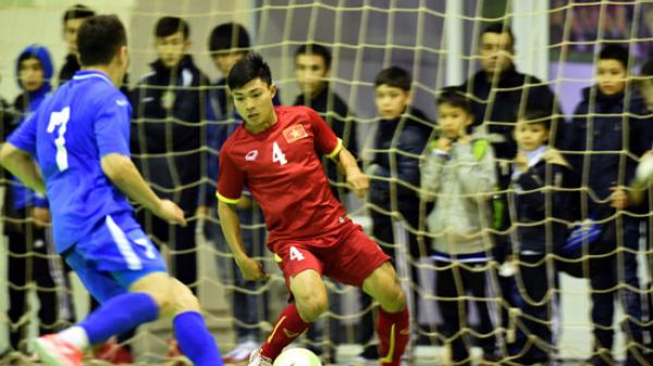 Việt Nam lại đụng Uzbekistan ở Futsal châu Á: Oan gia ngõ hẹp