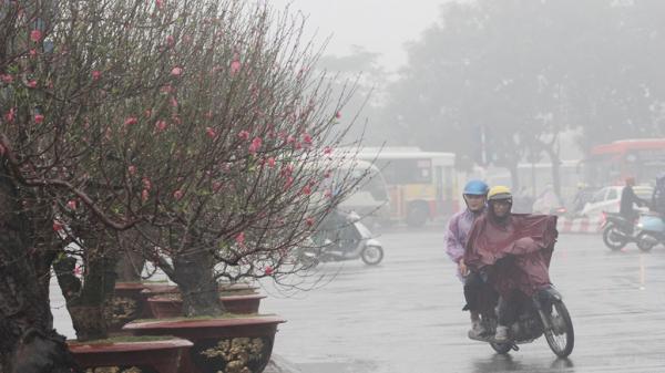 Dự báo thời tiết ngày 27 Tết: Bắc Bộ mưa rét, có nơi dưới 5 độ C