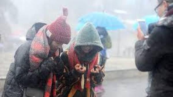 Dự báo thời tiết 10 ngày tới: Miền Bắc mưa rét kéo dài