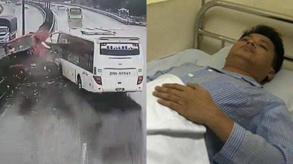 Trung úy điều khiển chiếc xe cứu hộ gặp nạn: 'Em quá choáng và ngất ngay sau đó'