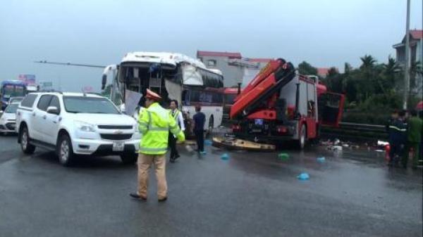 Tài xế xe khách đâm xe cứu hỏa trên cao tốc Pháp Vân - Cầu Giẽ: Tôi nói thật!