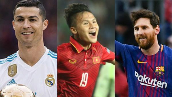 """CỰC NÓNG: Quang Hải """"chung mâm"""" với Messi, Ronaldo trong """"Top 500 cầu thủ có sức ảnh hưởng lớn nhất thế giới"""""""