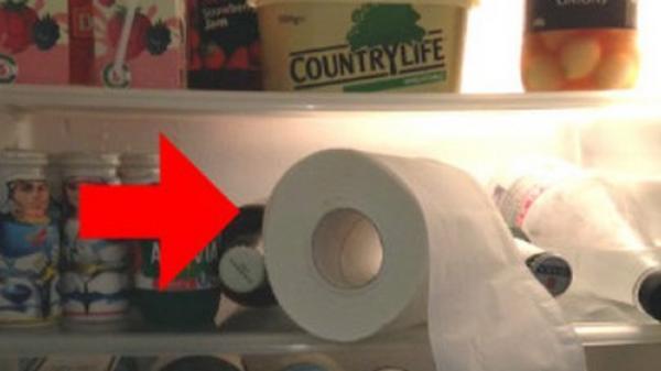 Để 2 cuộn giấy vệ sinh vào tủ lạnh, bạn sẽ ước mình biết mẹo này sớm hơn