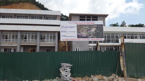 Quảng Ninh: Hiểm họa kề kề trên công trình xây dựng