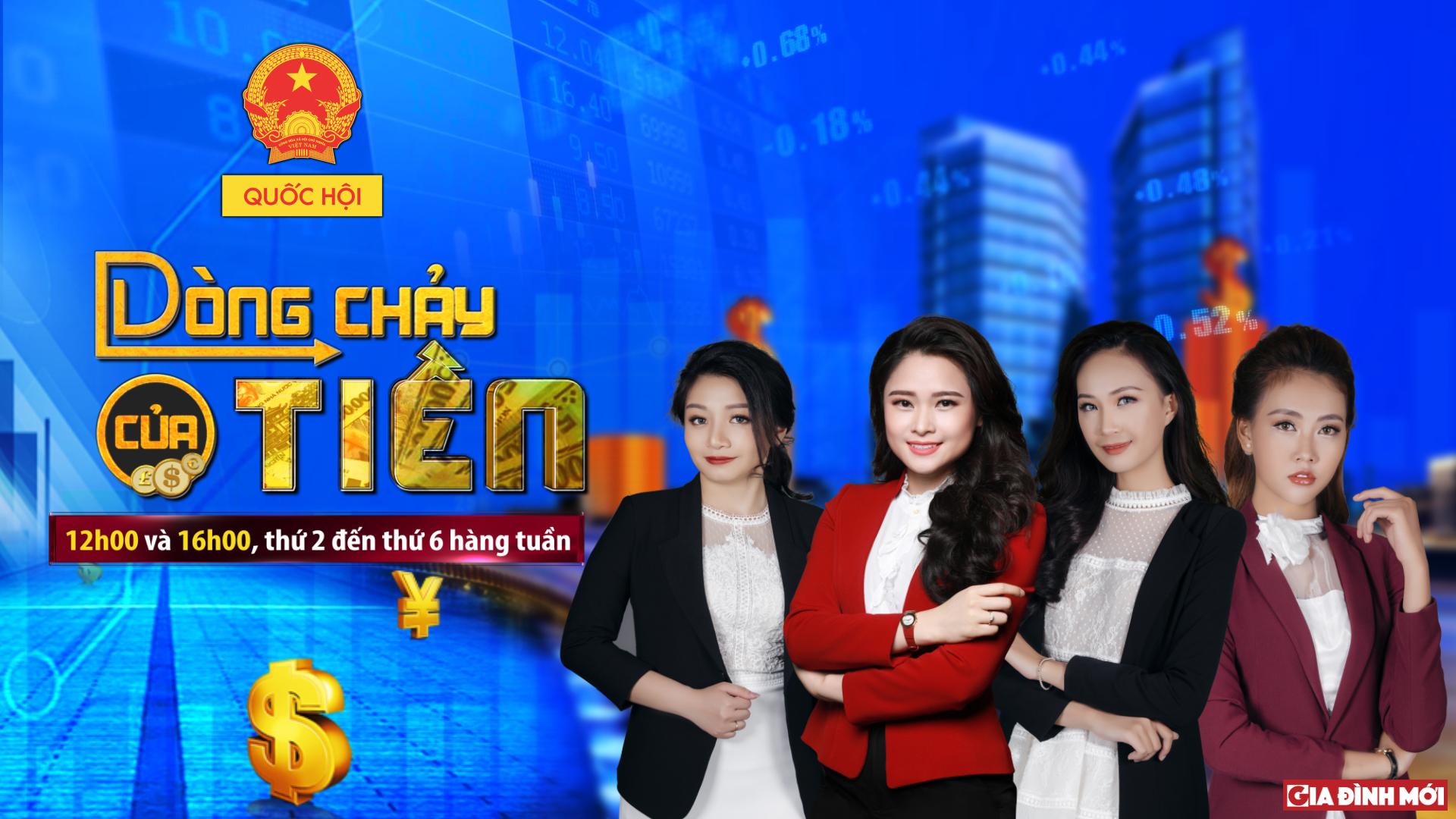 BTV Khánh Ly trở lại với bản tin 'Dòng chảy của tiền'