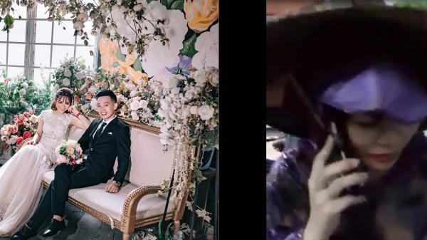 CLIP HOT: Cô dâu Phú Xuyên mặc combo nón mê, dép tổ ong, áo mưa trong ngày cưới gây xôn xao cộng đồng mạng