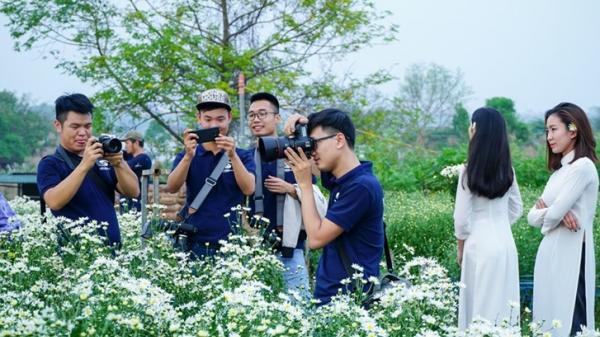 Đây đích thực là chớm đông Hà Nội vạn người mê: 1 mét vuông cúc họa mi 10 ống kính máy ảnh