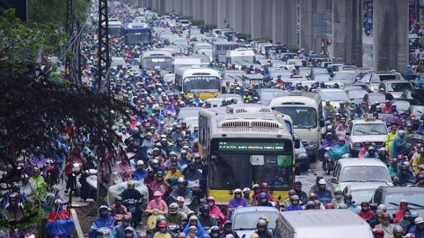 Hà Nội: Lộ trình cấm xe máy vào nội đô bắt đầu được phê duyệt