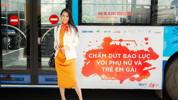 Chồng con tự hào khi Dương Thùy Linh tham gia đấu tranh bình đẳng giới