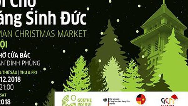 Hội chợ Giáng sinh Đức tại Hà Nội bắt đầu từ hôm nay