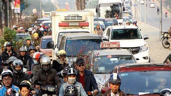 Hà Nội đảm bảo an toàn giao thông dịp Tết Kỷ Hợi