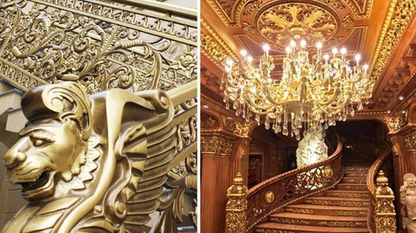 Đo độ chịu chơi của các đại gia Việt qua những biệt thự dát vàng lấp lánh