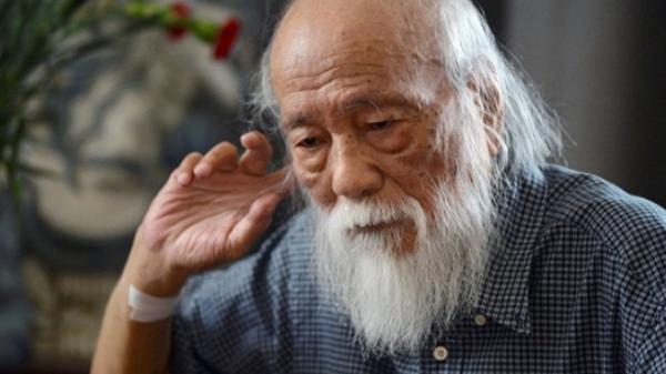 Rạng sáng ngày 9/10, thầy Văn Như Cương đã qua đời ở tuổi 80