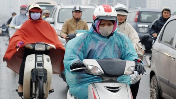 Ngày mai, Bắc Bộ đón không khí lạnh tăng cường