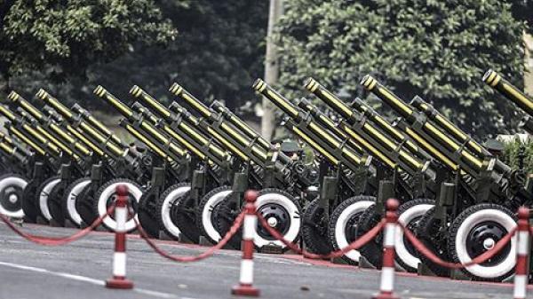 Dàn đại bác ở Hoàng thành Thăng Long sẵn sàng cho lễ đón chính thức Tổng Bí thư, Chủ tịch Trung Quốc Tập Cận Bình