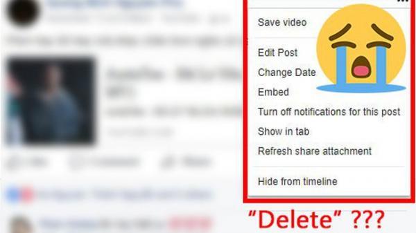 Facebook đã bỏ chức năng xóa status, hãy nghĩ kỹ trước khi thả thính!