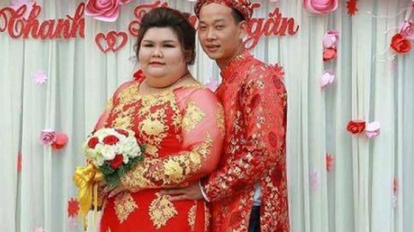 Vỗ béo người yêu từ 90 kg lên 120 kg rồi mới cưới, ông chồng của năm đây rồi!