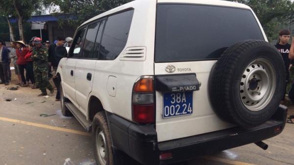 Ô tô của UBND huyện và xe máy tông nhau, 3 người tử vong