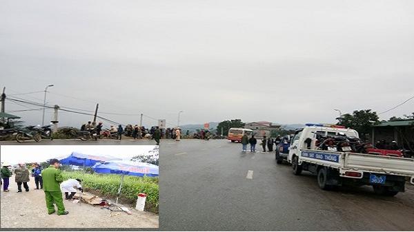 Hà Tĩnh: Hai bà cháu thương vong sau cú tông của xe bán tải