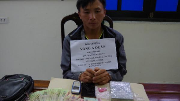 Hà Tĩnh: Vận chuyển 1 bánh heroin và 30 viên hồng phiến với giá 10 triệu đồng