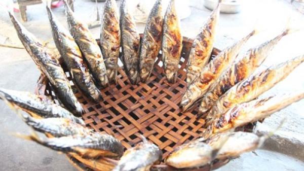 Thơm lừng cá nướng trên làng biển Thạch Kim, Hà Tĩnh