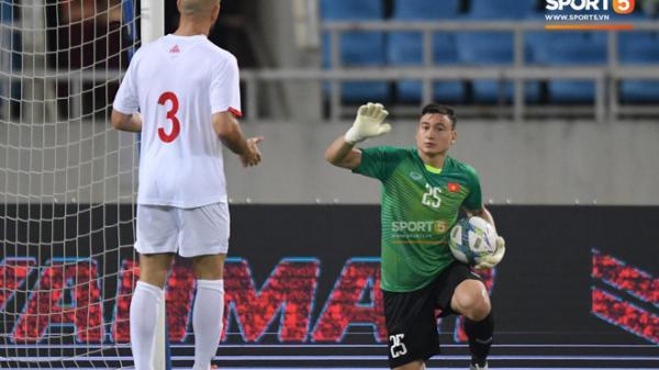 Đặng Văn Lâm lần đầu lên tiếng sau khi bị thầy Park loại khỏi danh sách U23 Việt Nam