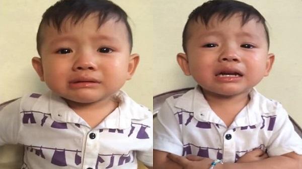 Hà Tĩnh: Cậu bé đáng yêu vừa mếu máo vừa hát 'Gửi anh xa nhớ'